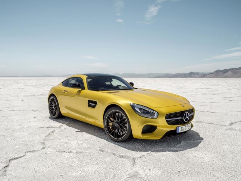 Mercedes AMG GT S : Zero to 100km/h in 3.8 seconds, and a top speed of almost 200mph. And when it's not being an intense driver's car it is a top of the range, creature comforts-packed Mercedes Benz. Photo:AFP
