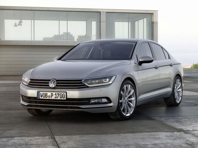 The Volkswagen Passat : The new Passat has just been crowned European Car of the Year 2015 and even before the award was experiencing a huge spike in demand. Photo:AFP