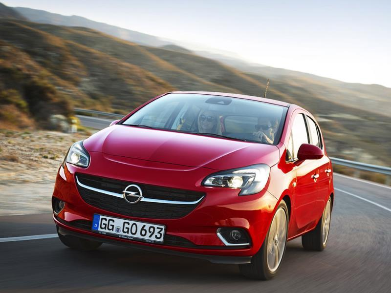 Opel/Vauxhall Corsa : The refreshed Corsa, unveiled in Paris in September, is a hit but Vauxhall/Opel also has a hit on its hands with its little crossover, the Mokka, which though not in the top 10, has seen sales jump 66.6%. Photo:AFP
