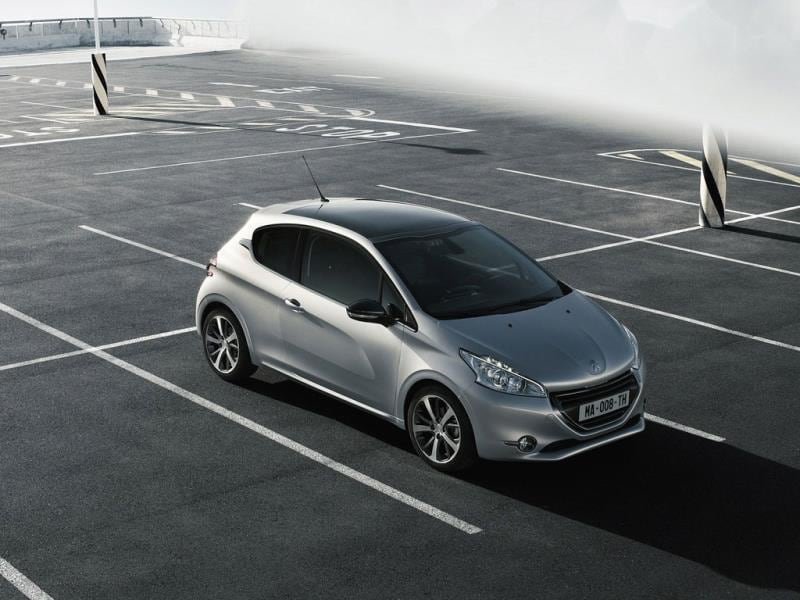 The Peugeot 208 : Despite having a less than inspiring model range at the moment, Peugeot's 208 is still proving popular even though the supermini is the most competitive vehicle segment in Europe. Photo:AFP