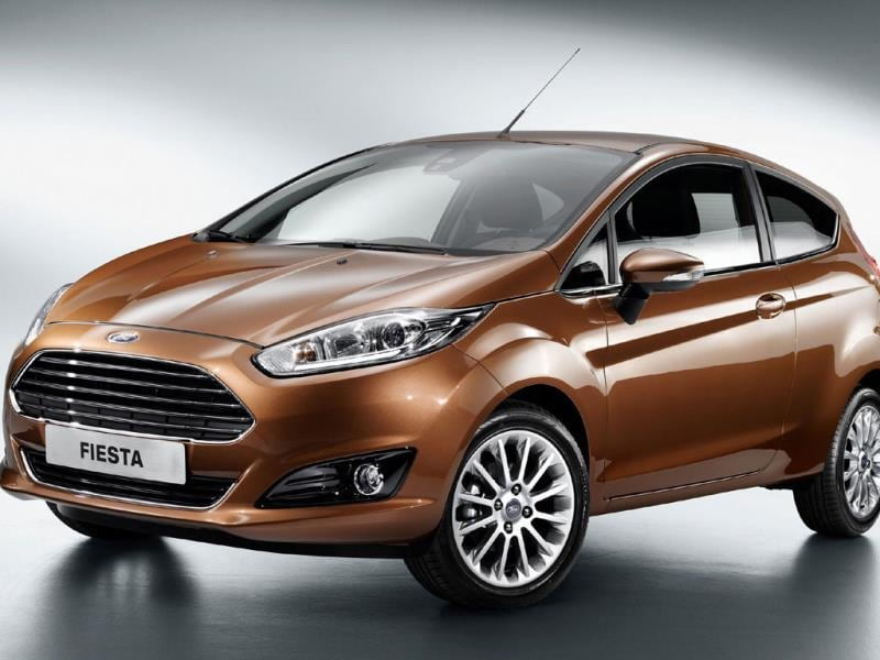 The Ford Fiesta : The Fiesta is the only Ford in this month's list but expect the full year tables to tell a different story. The company is lining up six new models for Europe over the course of 2015, including crossovers. Photo:AFP