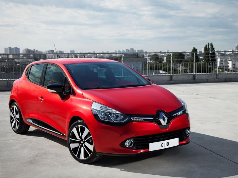 The Renault Clio : Renault's mini SUV the Captur is proving a big hit with consumers, as is its new Twingo, but it's the company's more traditional supermini, the Clio that is currently holding onto third place in the rankings. Photo:AFP