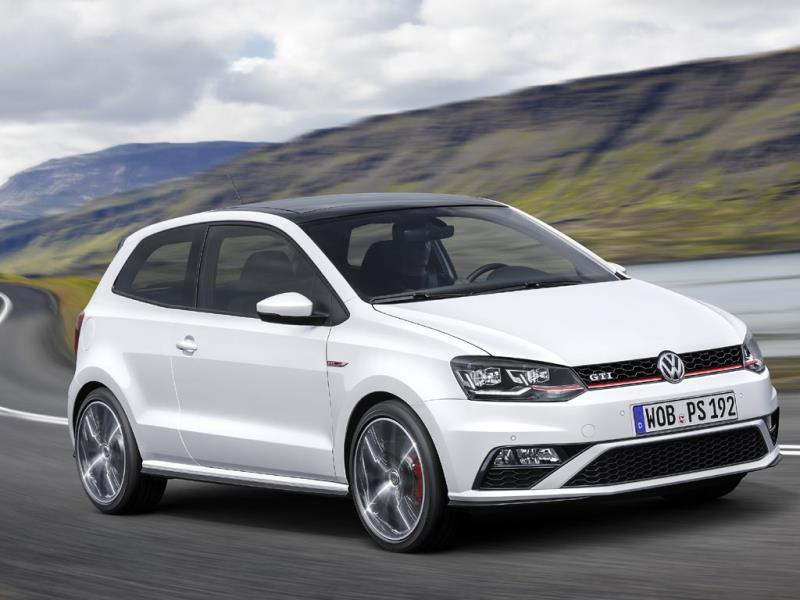 The Volkswagen Polo : For the second month running, the Polo has managed to hold onto second place, a spot traditionally occupied by the Ford Fiesta. Like VW, Ford has a huge market share in Europe but is currently being pushed into third place overall by Renault. Photo:AFP