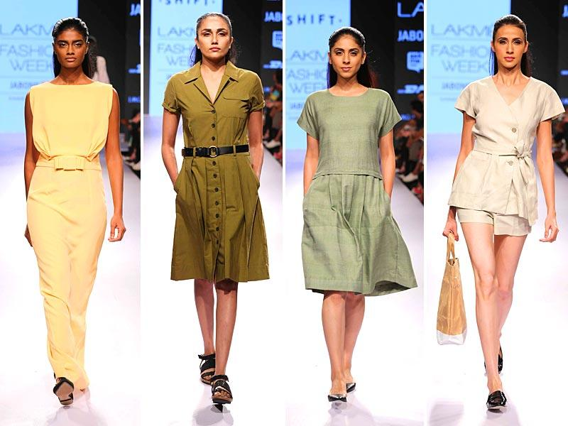 Making life really easy and practical for the global traveller, Nimish Shah for his Shift label presented a perfect summer wardrobe at Lakmé Fashion Week Summer/Resort 2015.