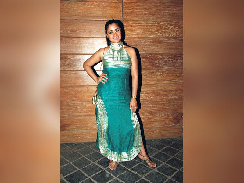 The bad: Narayani Shastri at a film event on March 18.Our take: The weird shape of the dress makes Narayani look hipheavy. Not that it's a great dress to begin with.