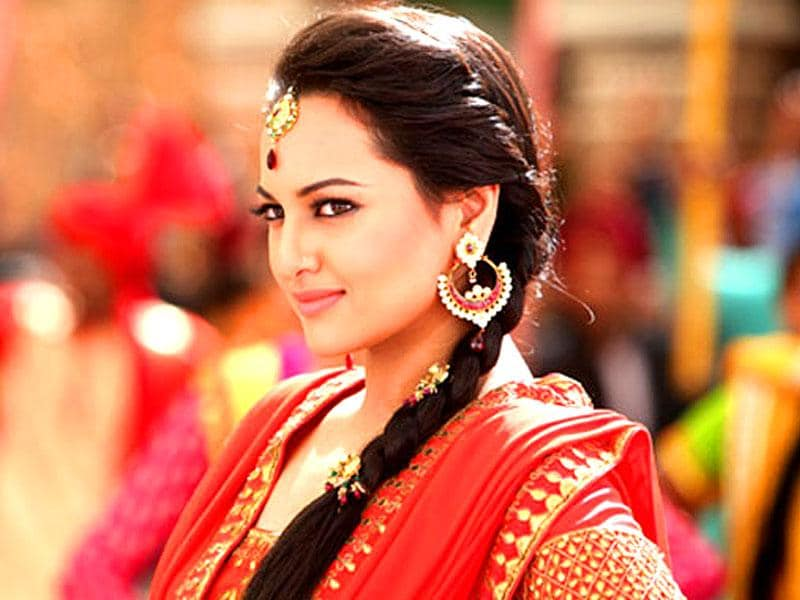 Sonakshi Sinha and Shahid Kapoor were spotted at various places around the release of R...Rajkumar.