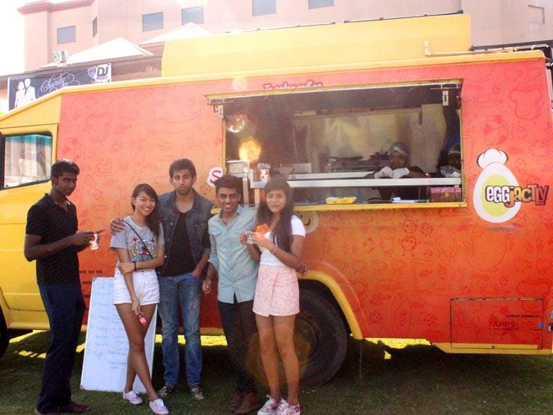 BELGIAN BREAKFASTS: Inspired by the trucks of New York and the TV series Eat Street, Vikrant Misra founded Eggjactly, that has separate menus for breakfast, lunch and dinner. The mini kitchen has the latest equipment complete with a sewage tank. Eggjactly's menu includes eggy delights like Belgian waffles and anda bhurjee. Price: Rs 80 onwards, Where: Eggjactly, travels across Gurgaon. Follow their FB page EGGjactlythefoodtruck