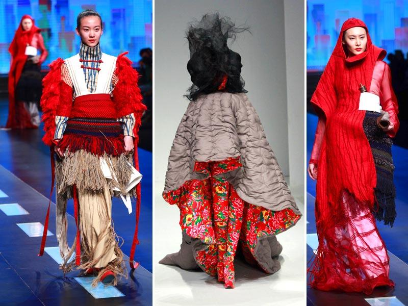 Could fashion get any more crazy? Maybe, maybe not. But this much is plain: This year's China Fashion Week is for the rebellious earthlings that crave alien fashion. (AFP)