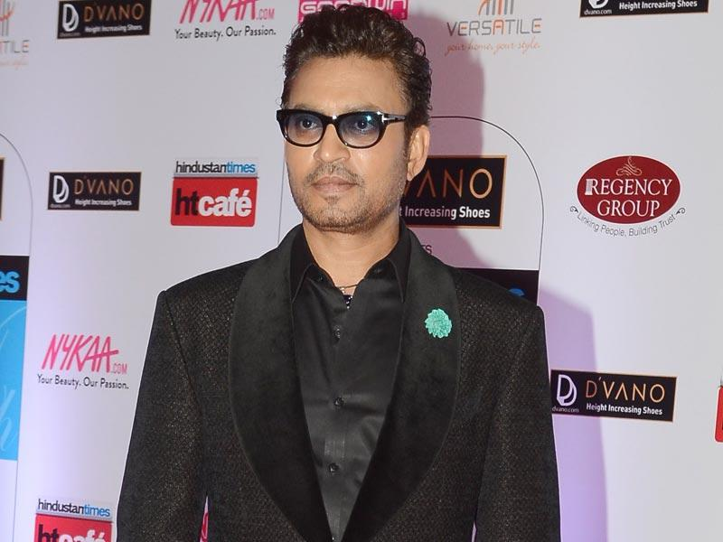 Irrfan Khan looks stunning at the HT Mumbai's Most Stylish Awards 2015 ceremony in Mumbai on March 26, 2015. (AFP Photo)
