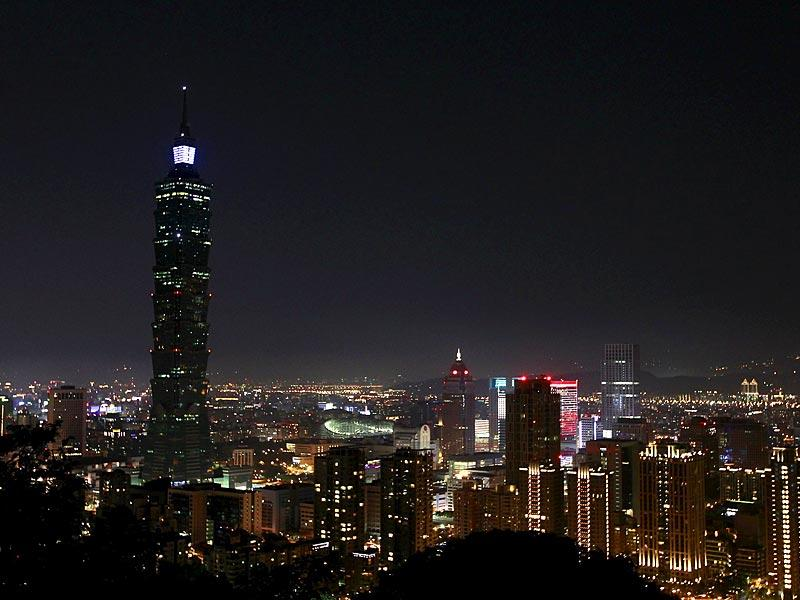 The Taipei 101 building is seen during Earth Hour in Taipei. Earth Hour, when everyone around the world is asked to turn off lights for an hour from 8:30pm local time, is meant as a show of support for tougher action to confront climate change. (Reuters)