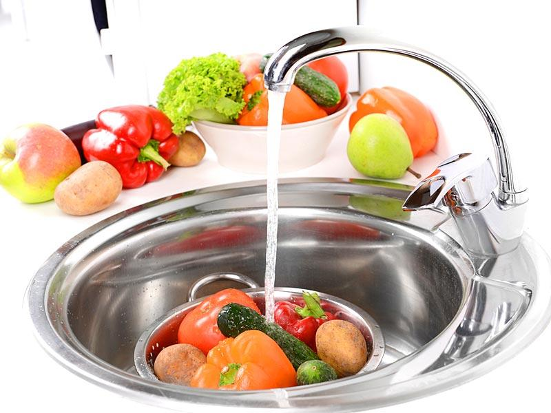 Use safe water and raw materials: Use safe water or treat it to make it safe. Select fresh and wholesome foods. Choose foods processed for safety, such as pasteurized milk. Wash fruits and vegetables, especially if eaten raw. Do not use food beyond its expiry date.