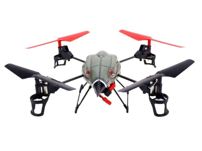 You still can't fly drones in India. But you can still buy them. Take them for a spin on your next backpacking trip when you're far away from cities. Make sure there are no airports or military bases around or you'll be busted faster than you can blink. Here are our favourites. | Badboy Quadcopter with Camera, Rs. 8,404: The Badboy lives up to its name by being a tough little sucker. Amazon buyers report no damage despite multiple crashes. A smart gyroscope inside lets it hover mid-flight – even if you let go of the controls completely.