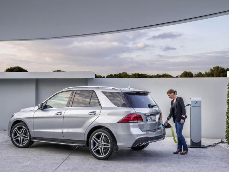 The Mercedes-Benz GLE : The replacement for the ML-Class, the GLE claims class leading fuel efficiency, a hybrid option and can be specified with a proper off-road setup for those that want something that really can perform no matter what the terrain. However it is also a technological master class packed with Mercedes' industry-leading safety and driver aid systems. Photo:AFP