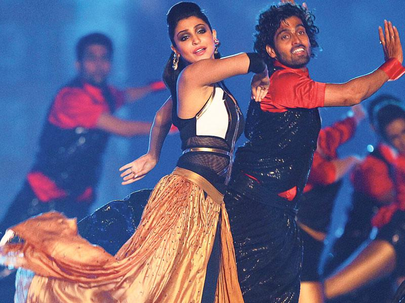 Anushka Sharma performs at the opening ceremony of IPL 2015. (PTI Photo)