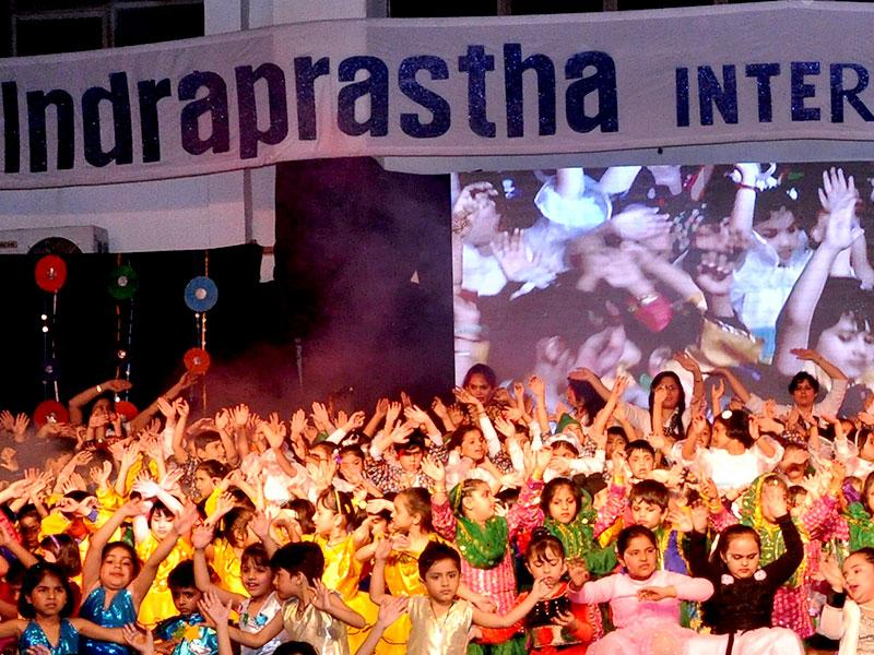 Indraprastha International School, Sector-10, Dwarka, celebrated its annual day with great aplomb and gaiety. The most pleasurable and eye-catching part of the programme was the ballet, 'Nurturing young minds. Photo/HT PACE