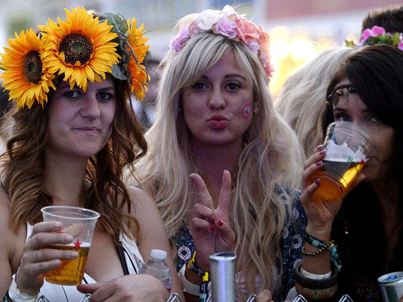Yes, Coachella always calls for a flower crown. That's one thing that won't change.