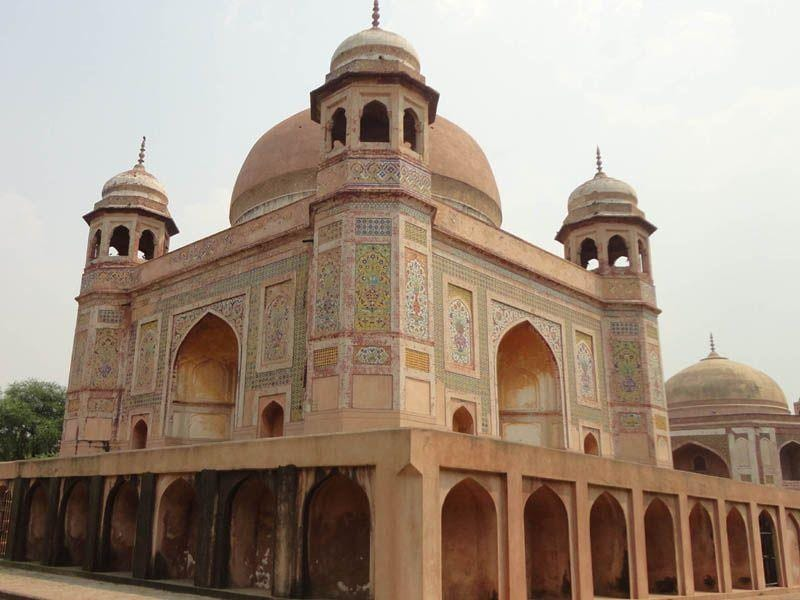 The Tomb of Mohammd Momin, a Tambura player in the court of Akbar in Nakodar. Dilbag Singh/HT