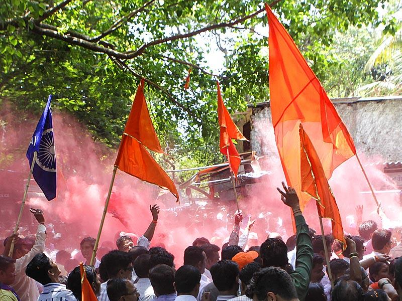 Winning the Bandra (East) bypoll has given the Shiv Sena the much needed boost ahead of BMC elections. (Kalpak Pathak/HT photo)