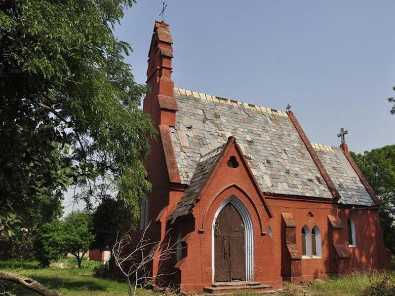 One of the oldest churchs.It was consecrated in 1840 in ludhiana.Sikander Singh Chopra/HT