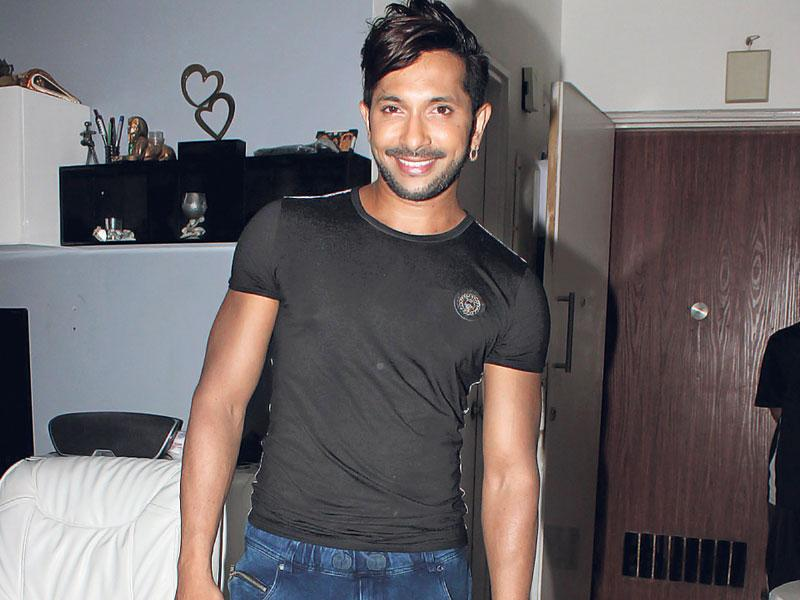 Terence Lewis during the birthday party of Debina Bonnerjee.