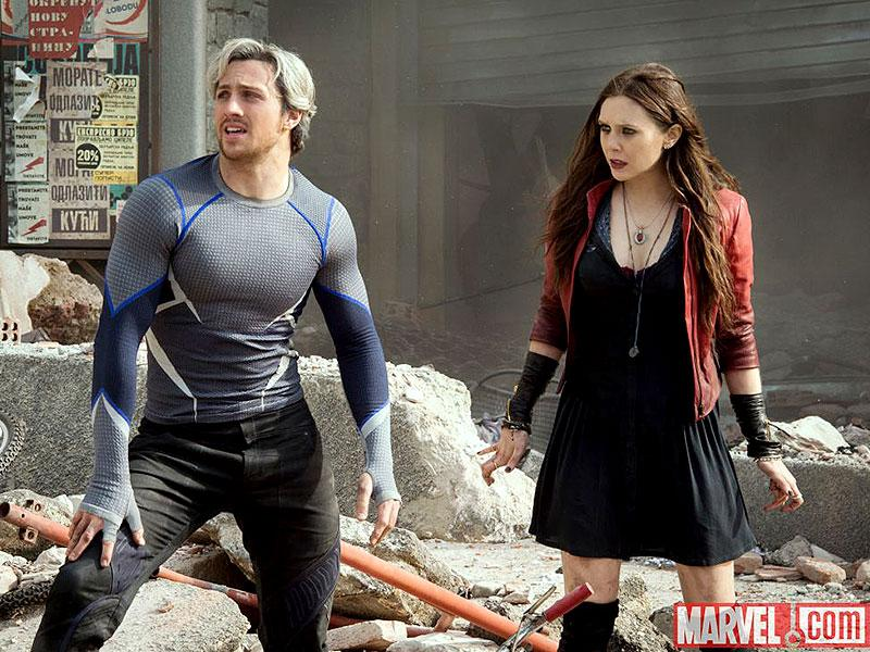 Quicksilver and Scarlet Witch are the new entrants to the Avenger superhero universe and they will bring chaos in their wake. (Courtesy: Marvel)