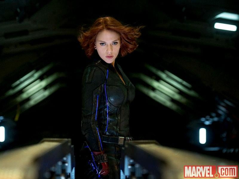 Scarlett Johansson's Black Widow has a bigger part in the film and a tentative romance with The Hulk. (Courtesy: Marvel)