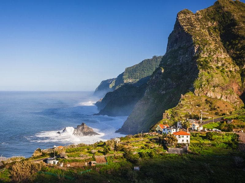 Right in the middle of the Atlantic, the islands of Madeira in Portugal are a haven of natural beauty.