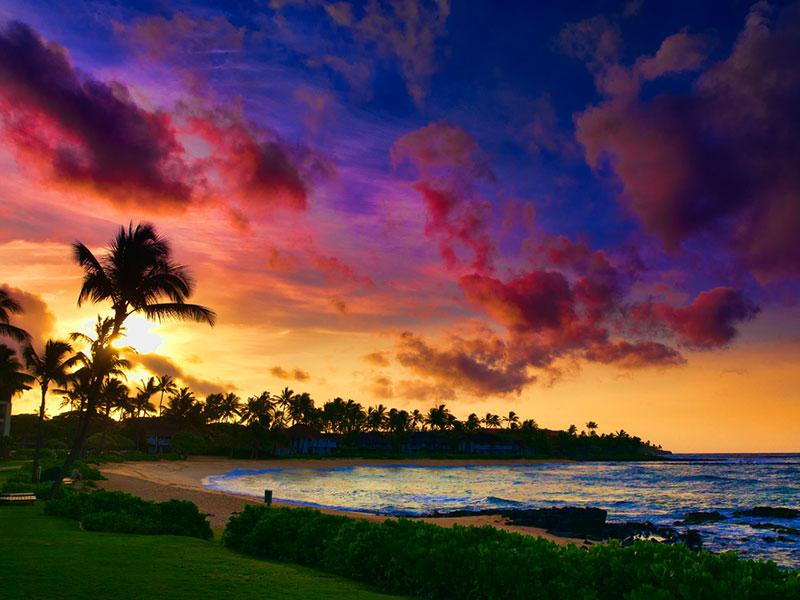 The island of Maui is the second-largest of the Hawaiian Islands and the 17th largest island in the United States.