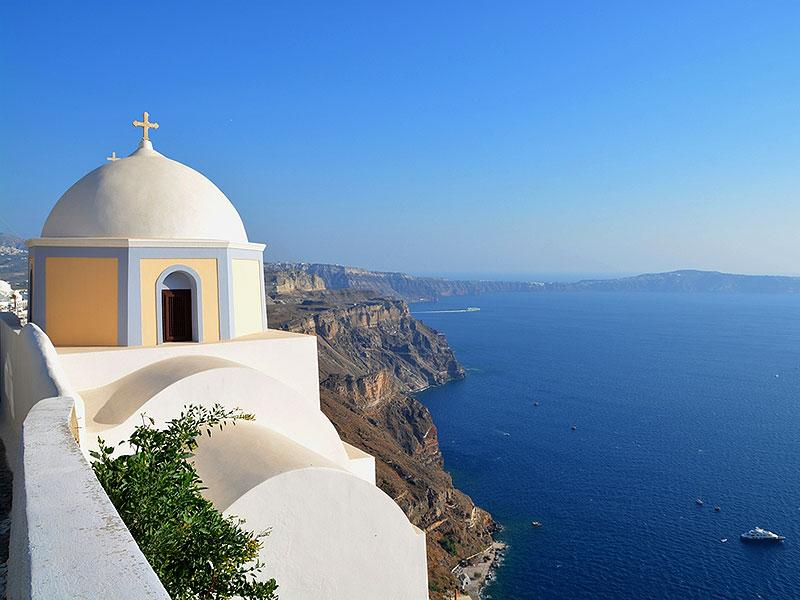 Greece's Santorini, classically Thera, and officially Thira, is an island in the southern Aegean Sea.