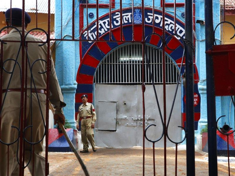 With an occupancy rate of more than 250%, Jagdalpur prison in Bastar division is one of the most over-crowded in the country. (Saumya Khandelwal/ HT Photo)