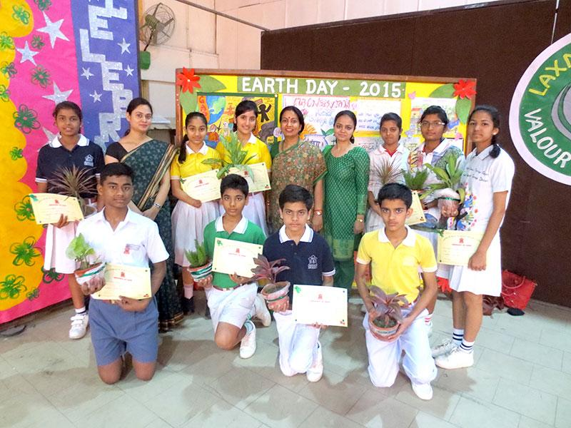 The Eco club of Army Public School, Delhi Cantt, celebrated Earth Day recently. The celebrations culminated with a special assembly where the students solemnly took green pledge to make every day, Earth Day and be green warriors to preserve mother earth. (Photo/HT PACE)