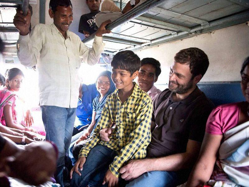 Rahul Gandhi visit comes at a time when farmers in the region have accused the government of tardy wheat procurement. PTI photo