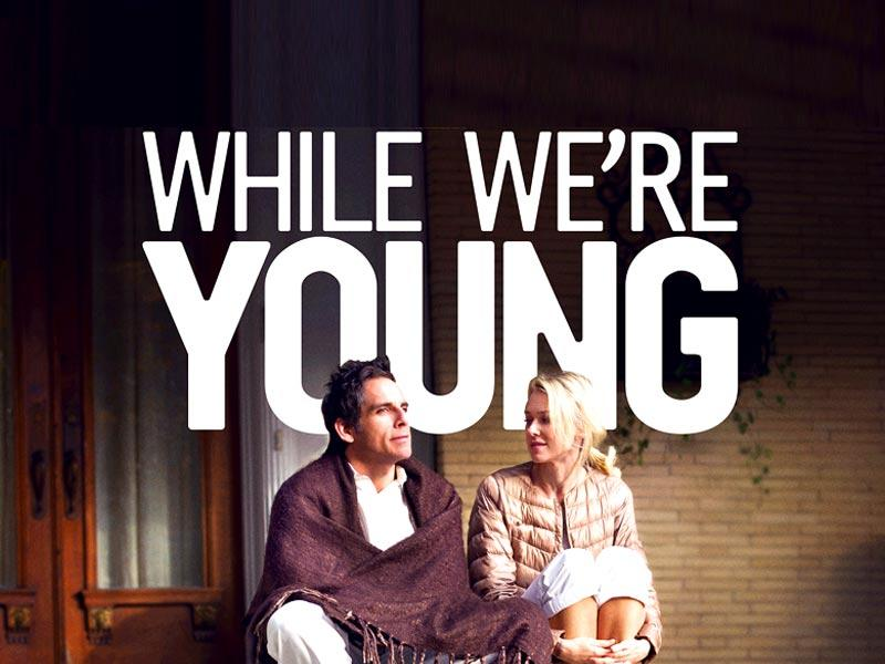 While We're Young is a 2014 Hollywood comedy starring Ben Stiller and Naomi Watts.