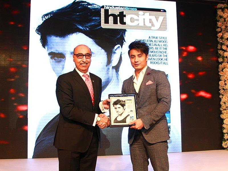 French beard or the clean-shaven look, Pakistani singer-actor Ali Zafar rocks it all with equal ease and was rightly awarded Most Stylish Import for 2015. (Waseem Gashroo/HT)
