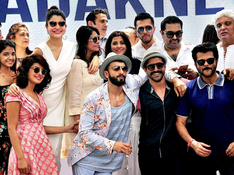 Dil Dhadakne Do is said to be based on a sister-brother relationship. (PTI Photo)