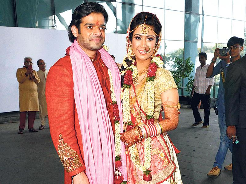 Karan Patel and Ankita Bhargava got married in Juhu.