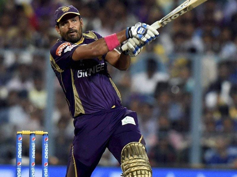 Yusuf Pathan powered KKR's innings against the Daredevils with his 42 off 24 balls (3x4, 3x6). (PTI Photo)