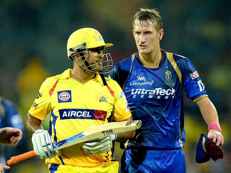 Rajasthan Royals pacer Chris Morris returned great figures of 3/19 to keep CSK in check. (Virendra Singh Gosain/HT Photo)