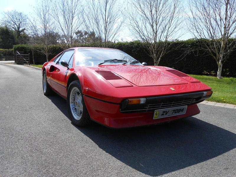 1977 Ferrari 308 GTB : The auction also includes a pristine model of this coupé, made famous by Tom Selleck in his role as Magnum PI, of which just over 10,000 were made by the Italian brand. Valued at $91,000 to $120,000. Photo:AFP