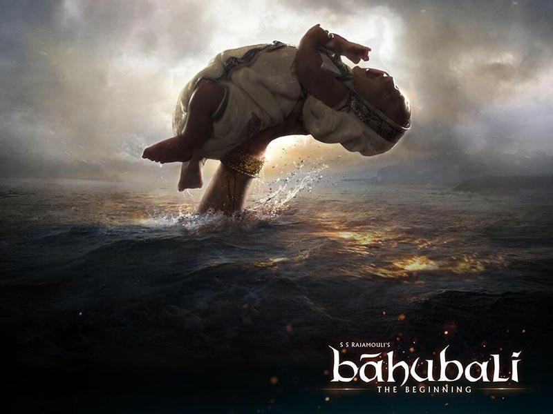 Baahubali: the destined one is born.