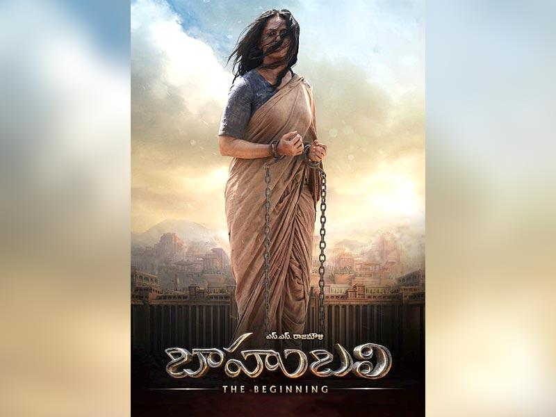 Devasena: Anushka Shetty's character, Devasena is shown in a new avatar; as a tortured captive.