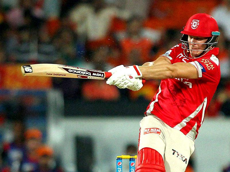 David Miller played a breathtaking unbeaten knock of 89 (44b) to bring Punjab agonisingly close to a win. (PTI Photo)