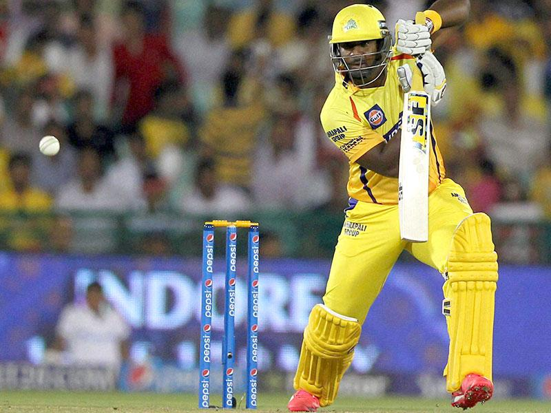 Dwayne Smith also found the going tough. Daredevils gave away just 16 runs in the first six overs, the lowest conceded in this IPL. (PTI Photo)