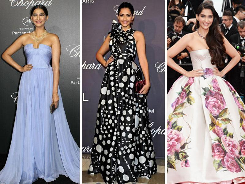 Sonam Kapoor is not called style diva for nothing. Some more of her dazzling looks at Cannes down the years.