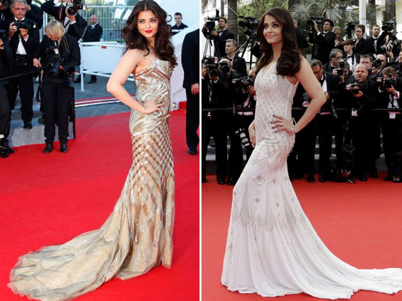 The annual fest of cinema and celebs has begun once again at Cannes. As stars like Aishwarya, Sonam and Katrina get ready to dazzle us at Cannes red carpet, we bring to you the best and the worst of what Indian female actors have worn at the film fest down the years.