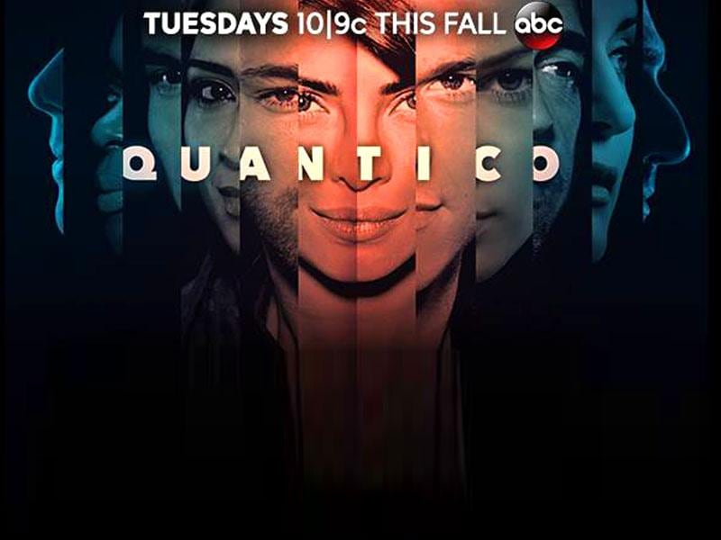 A poster of American TV show Quantico.