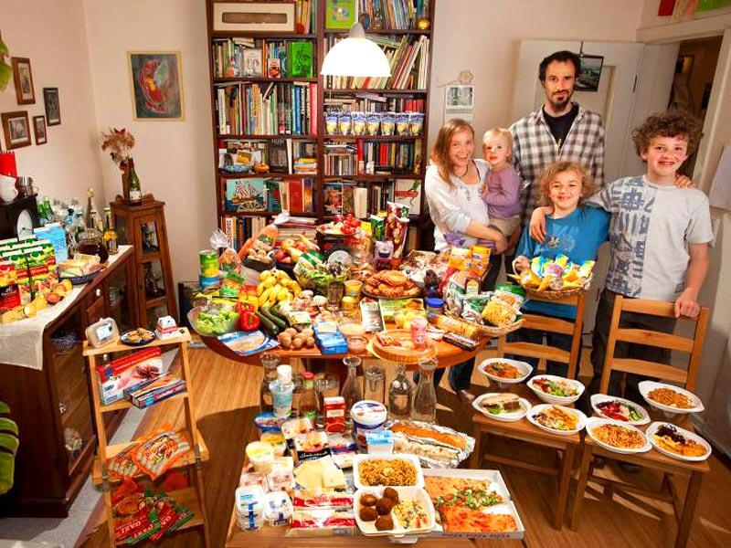 Country : Germany | Food Expenditure for One Week: $325.81 (source: Peter Menzel's book,