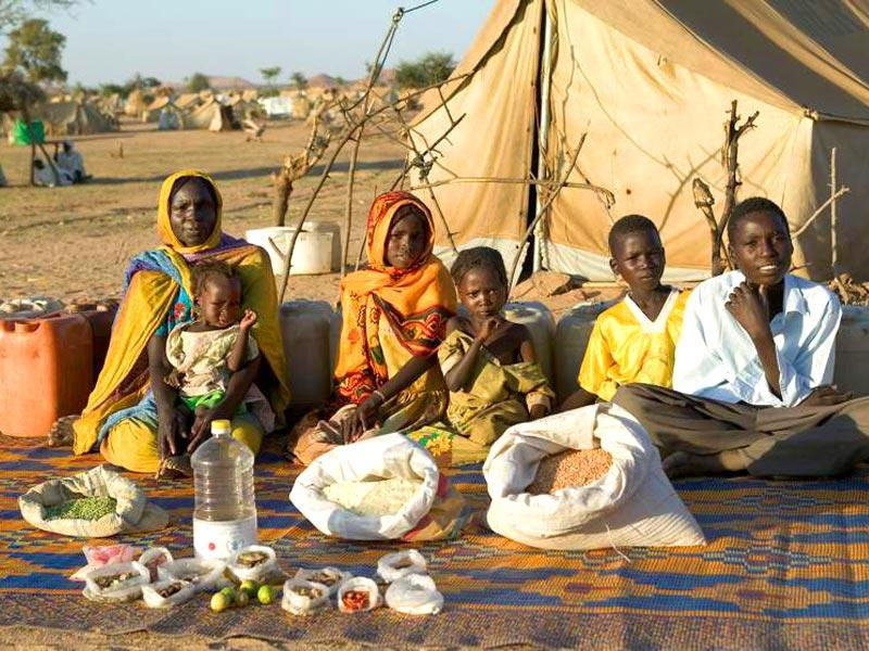 Country : Chad | Food expenditure for one week: $1.23 (source: Peter Menzel's book,