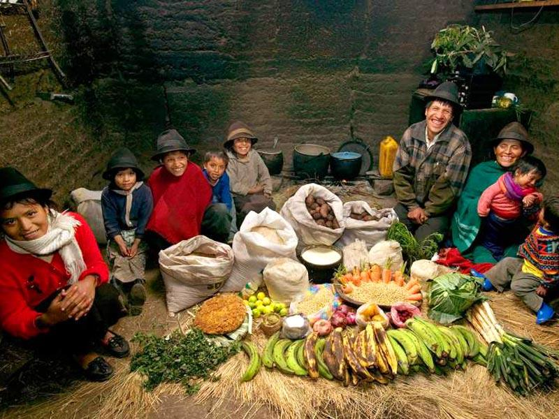 Country : Ecuador | Food expenditure for one week: $31.55 (source: Peter Menzel, from the book,