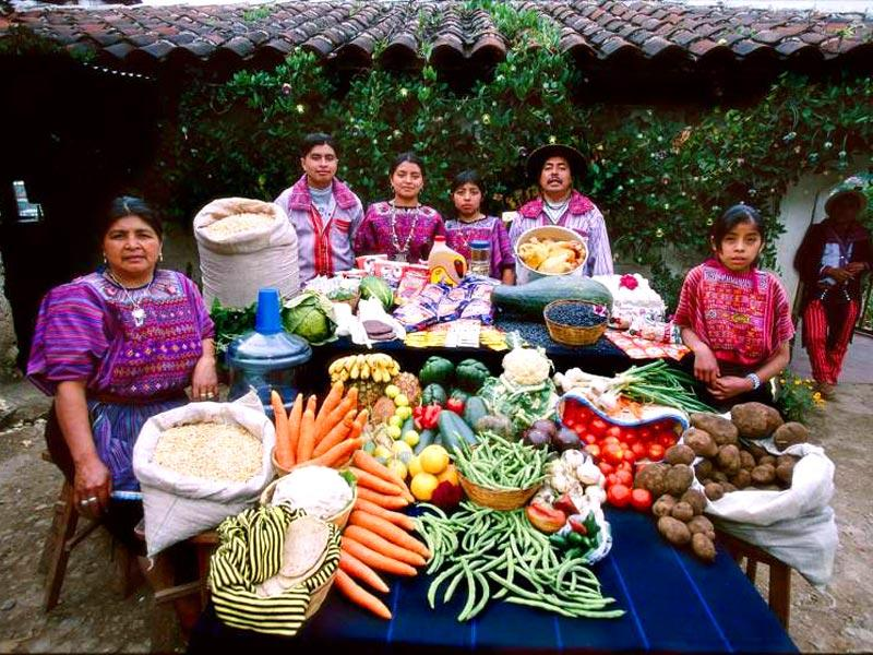 Country : Guatemala | Food expenditure for one week: $75.70 (Source: Peter Menzel's book 'Hungry Planet: What the World Eats')